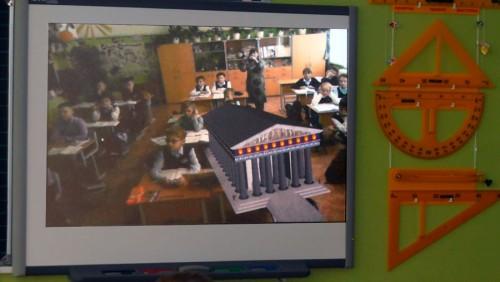 3Д объект дополненной реальности Храм Зевса